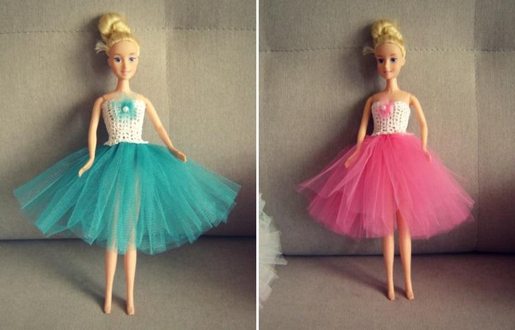 Sukienka tutu w intensywnych kolorach