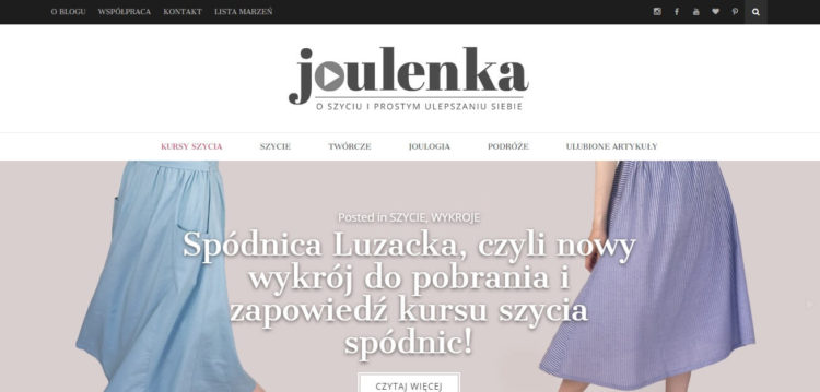Kreatywne blogi - Joulenka