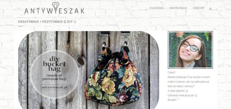 Kreatywne blogi - Antywieszak