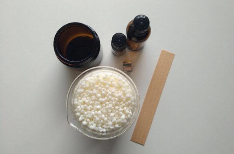 Świeca sojowa diy - potrzebne materiały